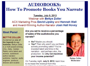 How to Promote Books Webinar