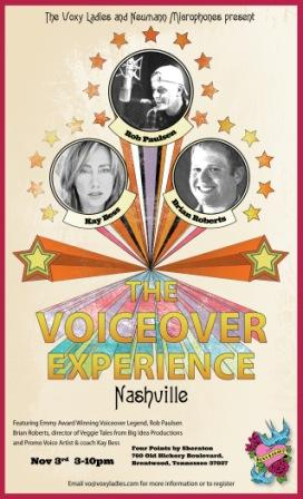 Voxy Ladies present The Voiceover Experience