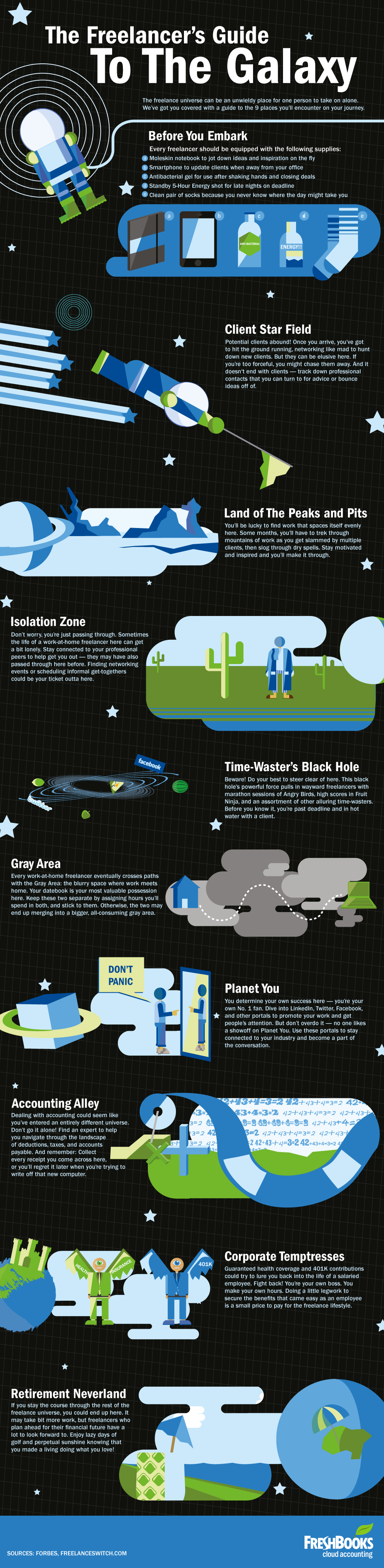 Freelancer's Guide to the Galaxy-INFOGRAPHIC