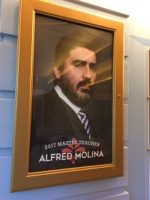 Alfred Molina at Ten Chimneys July 2017, voiceover, learning